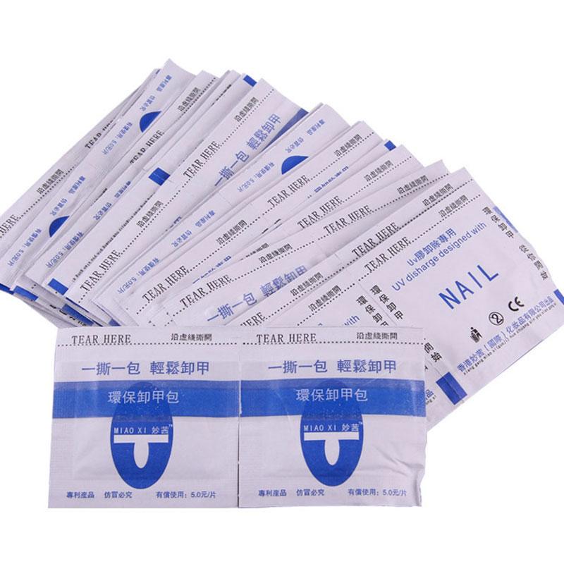 200 unidades pacote acrilico uv gel polones removedor envolve prego mais limpo facil uso remocao envoltorio