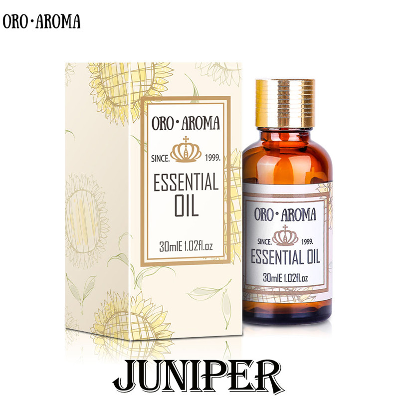 Famous brand oroaroma natural juniper Essential Oil Treatment of acne Skin inflammation and convergence pores juniper Oil image
