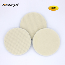 5 pollici Car Styling Giappone Lana Tampone lucidatura Per Auto Lucidatrice pad Kit di Lana Finitura Tampone lucidatura