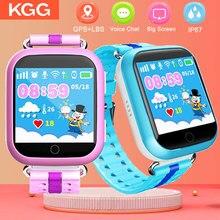 GPS חכם שעון Q750 Q100 תינוק חכם שעון עם 1.54 אינץ מגע מסך SOS שיחת מיקום מכשיר Tracker עבור ילד בטוח PK Q50 Q90