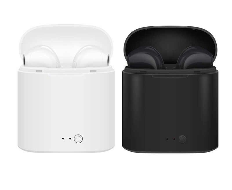 I7s Tws ワイヤレス Bluetooth イヤホンのミニステレオ低音イヤホンインナーイヤースポーツ充電で iphone xiaomi 電話