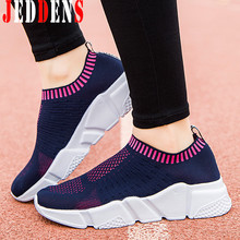 Large Sizes Women Running Shoes Mesh White Sneakers for Women Sport