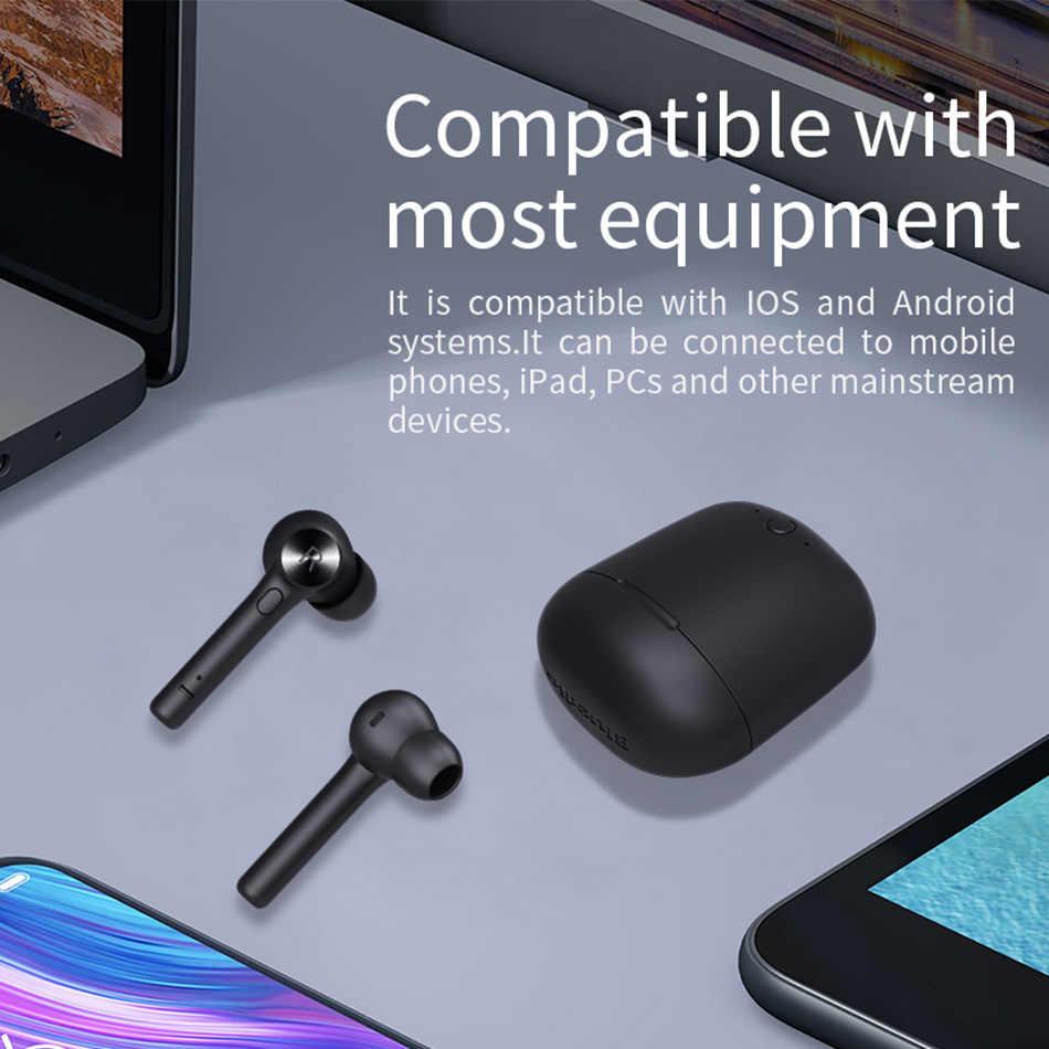 ワイヤレスの Bluetooth イヤホン電話ステレオスポーツインナーイヤーヘッドセット充電ボックス内蔵マイク