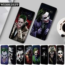 26W mroczny rycerz Joker Karta krzemu skrzynka dla Samsung S6 krawędzi S7 S8 Plus S9 S10 S10e M10 M20 M30 M40