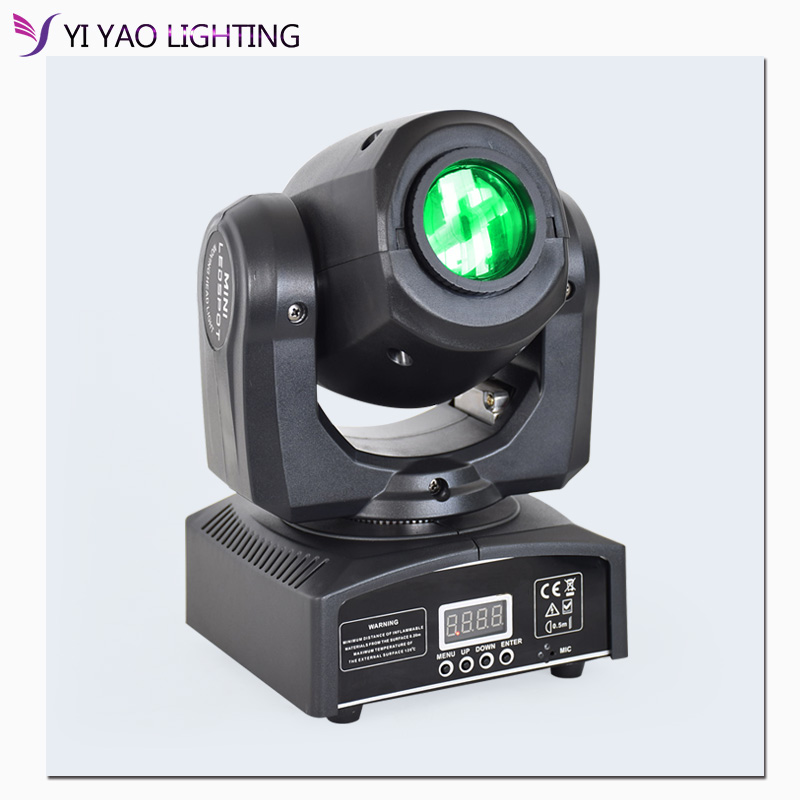 Led Gobo 10W Stage Lighting DMX512 DJ Party Eyourlife Moving Head Light Spot Light