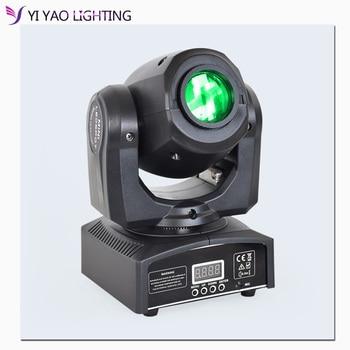 цена на Led Gobo 10W Stage Lighting DMX512 DJ Party Eyourlife Moving Head Light Spot Light