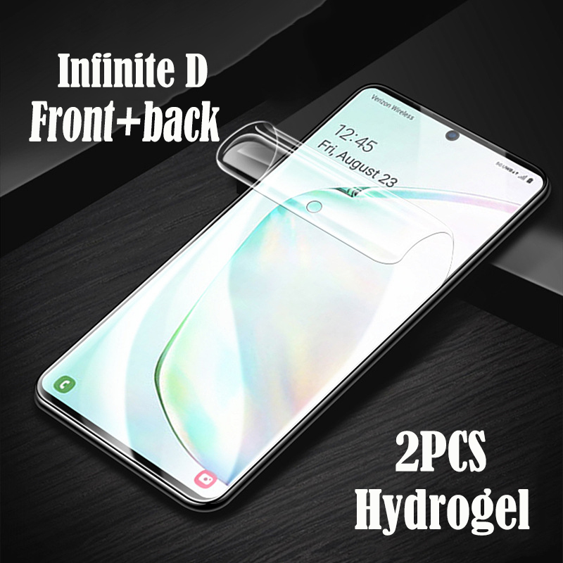 InfiniteD Protective Hydrogel For <font><b>Xiaomi</b></font> NOTE NOTE2 NOTE3 NOTE NOTE10 PRO <font><b>MIX</b></font> MIX2 MIX3 Full Cover <font><b>Screen</b></font> <font><b>Protector</b></font> soft Film image