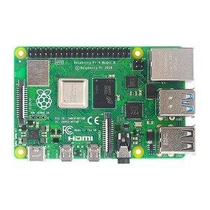 Image 2 - オリジナル英国ラズベリーパイ 4 モデルbキット 2 4 8 ギガバイトのram + absケース + デュアルファン + 電源アダプタオプション 64 32 ギガバイトsdカード & リーダー