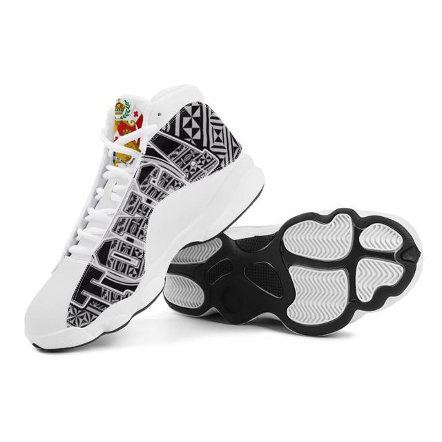 Venta caliente Tonga Polinesia Samoa Tribal estilo zapatillas de correr para niño personalizado bola Logo de equipo deportivo de Baloncesto de los hombres zapatos deportivos 4