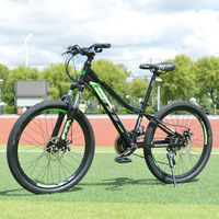 2020 new hot selling middle child Mountain Bike 27 Speed 24 Inch Steel Frame Available MTB Free Shipping City Bike Road Bike