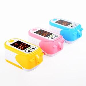 Image 4 - Baby Finger Pulse Oximeter Pediatric Oximetro De Dedo SpO2 Children Kids Fingertip Pulsioximetro Handheld Digital PR Counter LED