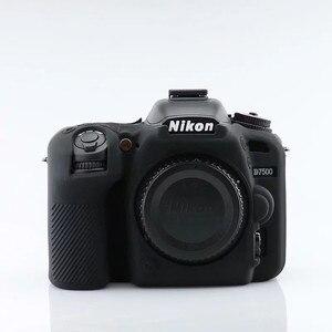 Image 3 - Silicon Armor Case DSLR Camera Body Cover Protector Bag For Nikon D7500 D810 D5500 D5600 D5300 D750 D850 D3400 D7200 Camera Bag