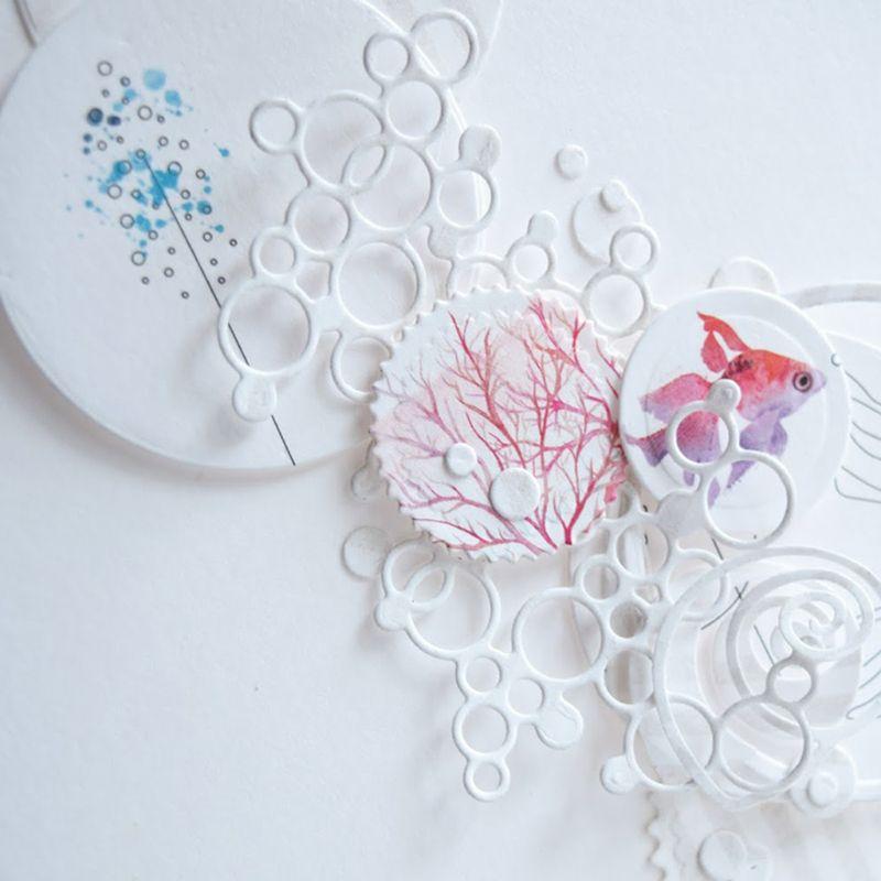 Fish DIY Metal Cutting Dies Stencil Album Stamp Paper Card Embossing Craft Decor