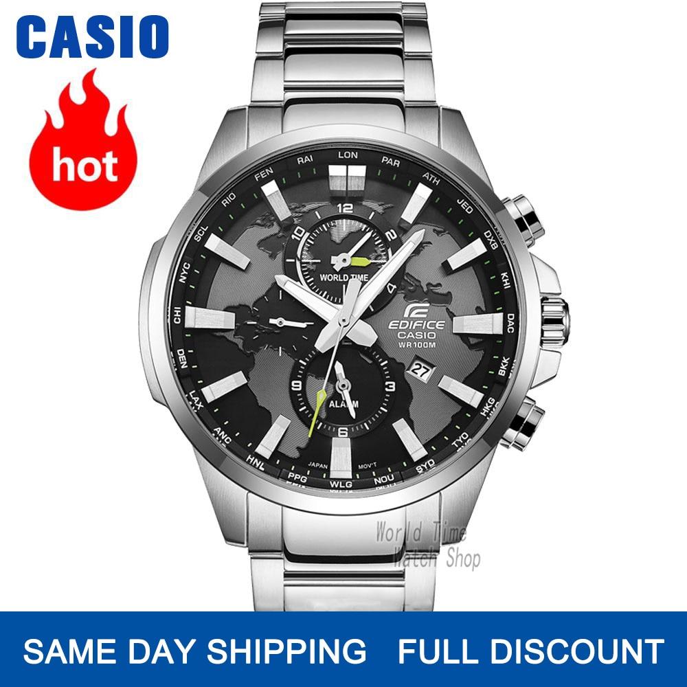 DiscountÿCasio Top Watchs Quartz Luxury-Set Sport Men Luminous 100waterproof Reloj╔