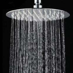 Квадратная круглая насадка для душа из нержавеющей стали, переносная Съемная насадка для душа, аксессуары для ванной комнаты, ручной душ