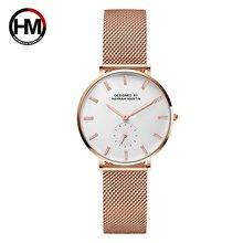 Часы hannah martin женские кварцевые водонепроницаемые брендовые