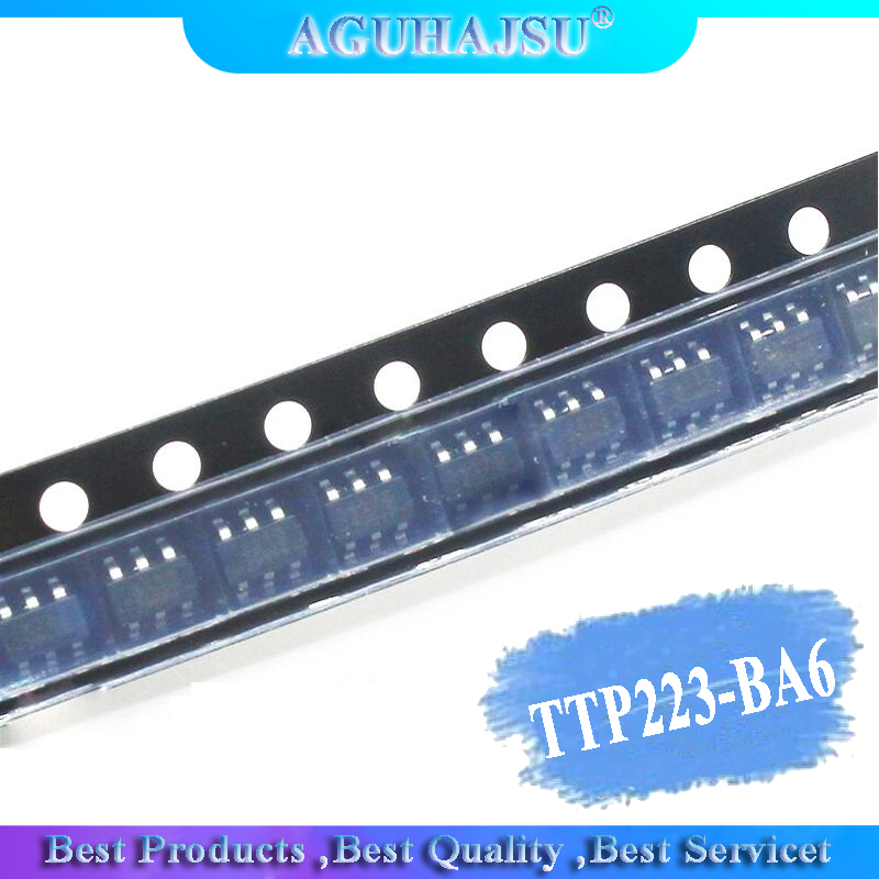 50pcs ORIGINAL TTP223-BA6 TTP223 BA6 223B Speed Touch IC Screen SOT23-6