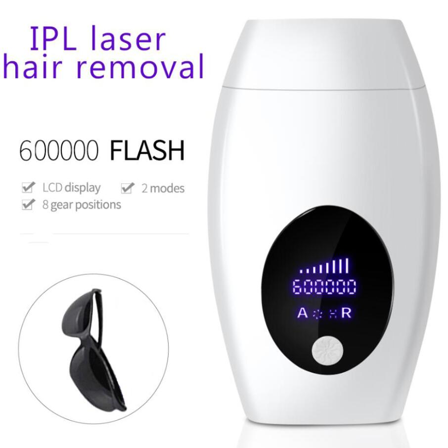IPL Laser Hair Removal 600000 Flash Epilator Professional Laser Bikini Trimmer Permanent LCD Women Painless Hair Remover Machine