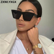 ZXWLYXGX 2019 Classic Luxury Sunglasses Women Plastic Vintage Candy Color Lens G