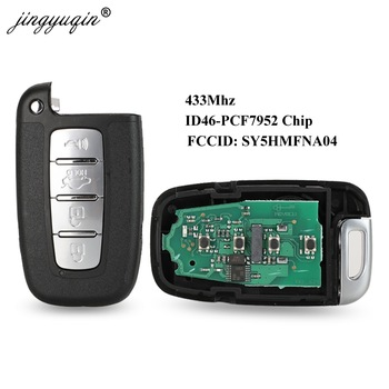 4BT Smart Remote Key 433Mhz ID46 For Kia Forte Soul Rio Borrego Sorento Optima Hyundai I30 IX35 Sonata Genesis Equus Veloster - discount item  14% OFF Auto Replacement Parts