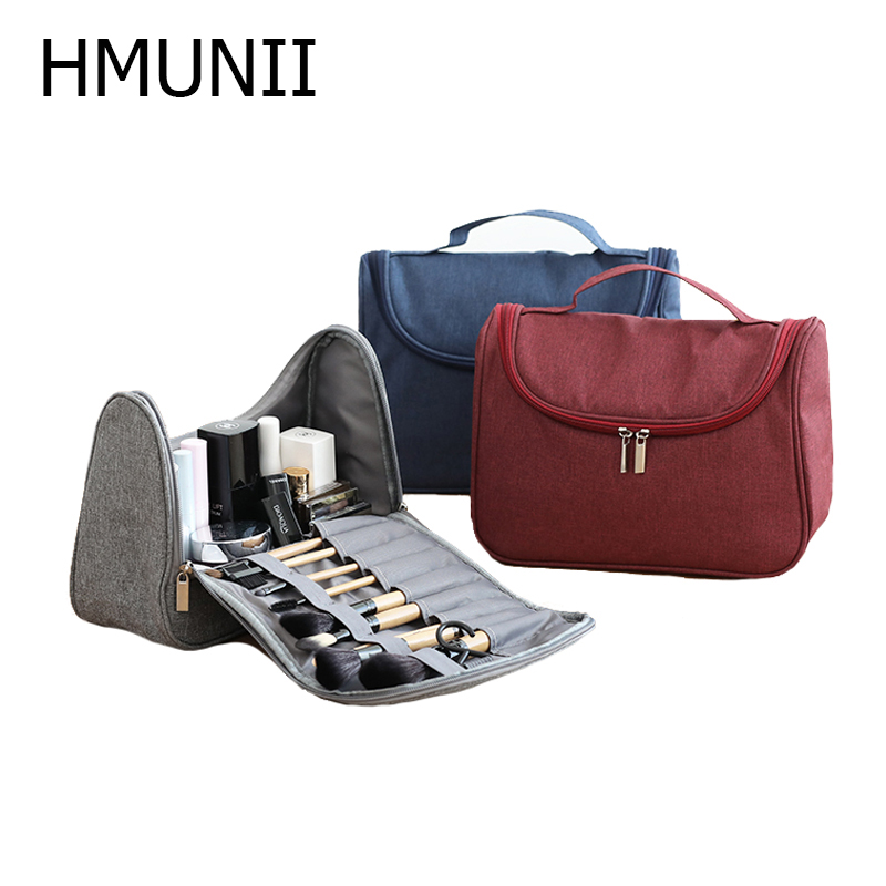 Makeup Brushes Bag Travel Cosmetic Bag Makeup Bags Beauty Case Make Up Organizer Toiletry Bag Kits Storage Travel Accessories