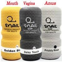 Реалистичная Вагина Анальный Мужской мастурбатор силиконовый мягкий тугой киска секс-игрушки для взрослых секс-игрушки для мужчин