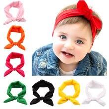 5 Pcs Baby Stirnbänder Mädchen Junge Headwear für Kleinkind Kinder Kinder Mädchen Solide Plain Farbe Kopf Zubehör Casual Turban 1-5 jahr