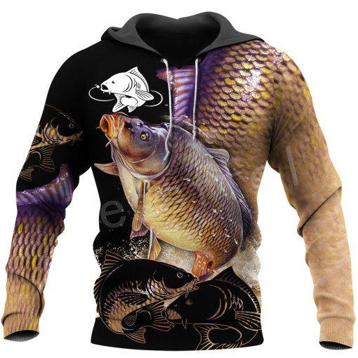 Tessffel New Fashion Animal Marlin Bass Fishing Harajuku Casual Pullover 3DPrint Zipper/Hoodie/Sweatshirt/Jacket/Mens Womens S16