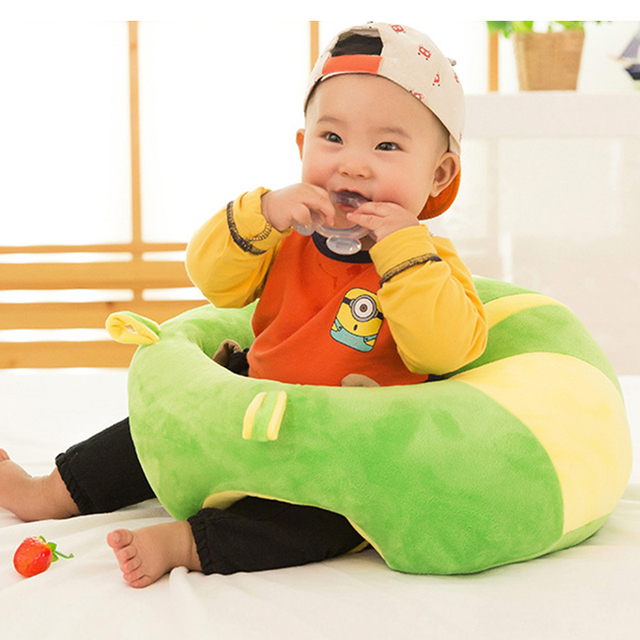 2021 New Infant Baby Seats Kids Baby Support Seat Sit Up Soft Chair Cushion Sofa Plush Pillow Toy Bean Bag Animal Sofa Seat 2
