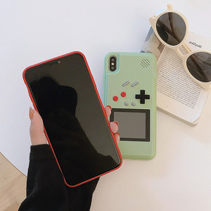 Image 4 - Game Cases For IPhone 12 11 Pro Max 7 8 6 6s Plus xs xr x 12Mini SE 2020 Case Cover Cartoon Game Retro Gameboy Back Cover Shell