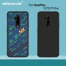 Oneplus 7tプロケース 1 プラス 8 nillkin pc tpuシリコーンスポーツスタイルバックカバーoneplus 7 ケースカバーoneplus 7 プロケース