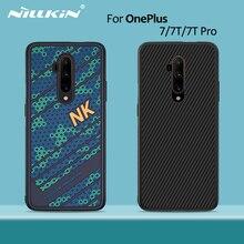 Per OnePlus 7T Pro caso per Uno più 8 NILLKIN PC TPU della copertura Posteriore di stile di sport del silicone OnePlus 7 copertura di caso OnePlus 7 Pro caso
