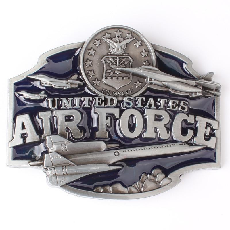 Military Theme Belt Buckle Navy Air Force Belt Buckle  Belt DIY Components Marines Buckle
