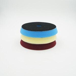 Image 3 - 6 Inch 150mm Hardened Sponge Polishing Disc Polisher Replaceable Sponge Buffing Pad Soft Polishing Foam Pads New