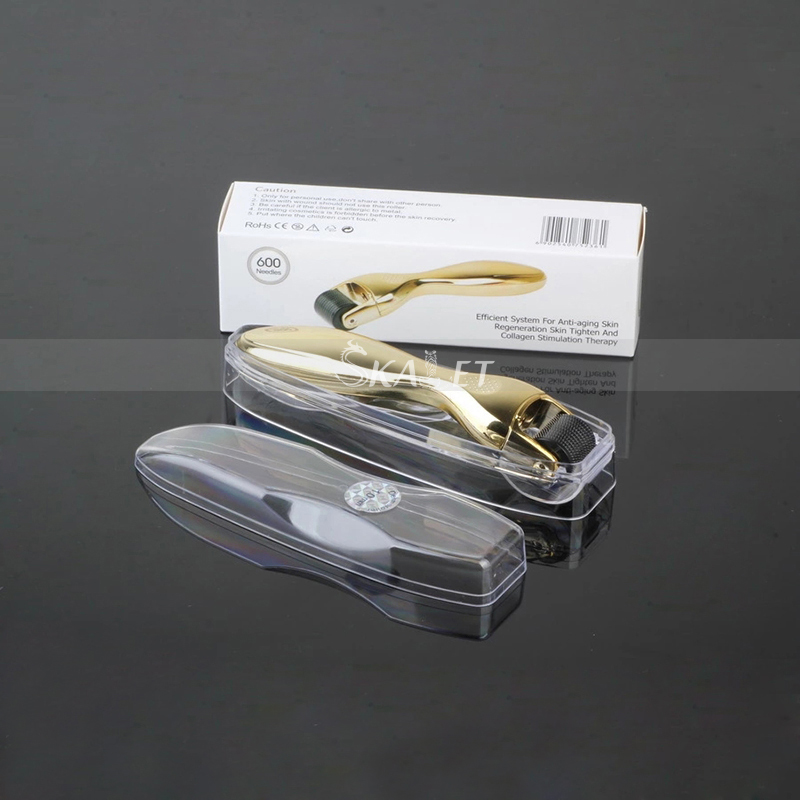 DRS Derma Roller 540 Micro Needles/skin Dermaroller/skin Beauty Roller Titanium Needle Roller 0.2mm-0.3mm