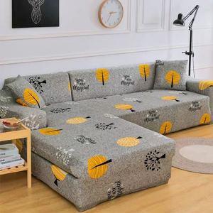 Image 5 - Elastische Sofa Cover L Vormige Bank Cover Eenvoudige Stijl Meubilair Woonkamer Sofa Cover Anti Fouling sofa Bed Cover