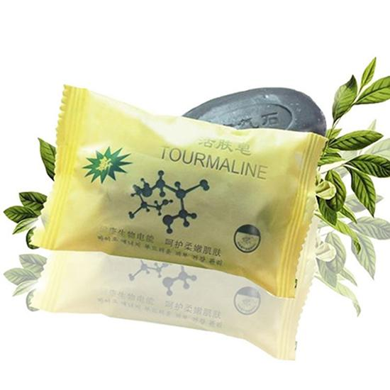 Face Body Beauty Healthy Personal Care Whitening Rejuvenation Tourmaline Soap Blackhead Remover Oil-control Bath Shower Supplies
