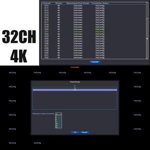 Image 5 - 32CH 4K Gesicht CCTV NVR Bord Hi3536 2 SATA Ports ONVIF Sicherheit Video Recorder Bord 32CH /4K/5MP/1080P Video Eingang 1CH Audio I/O
