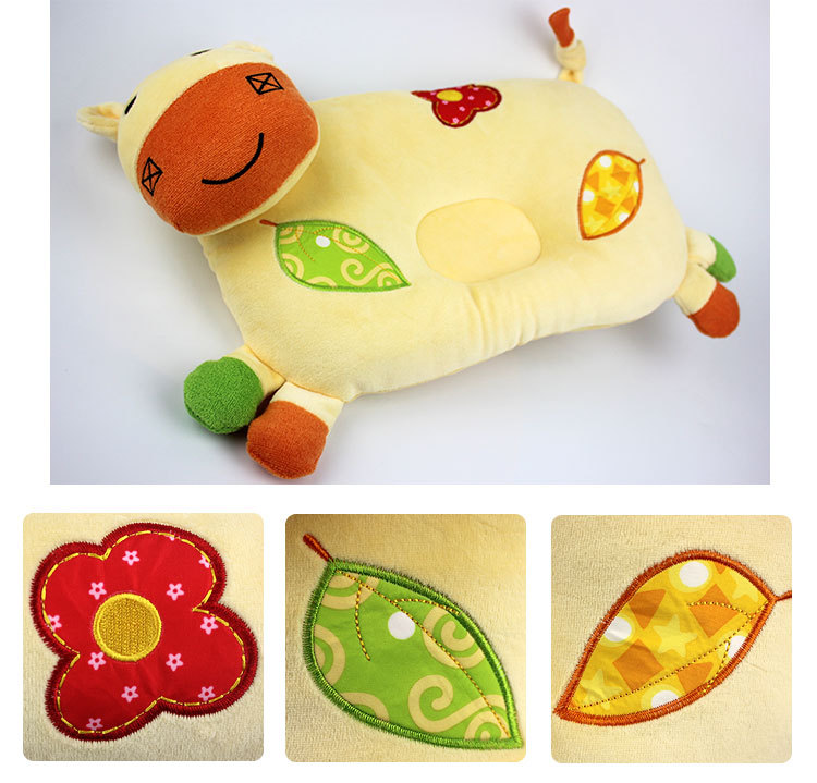 Cartoon Animal Styling Baby Nursing Pillow And Toddler Sleep Positioner Anti Roll Baby Bedding 5