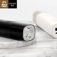 Портативный светодиодный фонарь Youpin SOLOVE X3, перезаряжаемый с USB, яркость, EDC, 3000 мАч