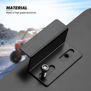 """Image 5 - UTV 50 """"szlak aluminium niższe Panel drzwi wkładki do Polaris RZR 900 2015 2016 2017 2018 2019 2 drzwi czarny"""