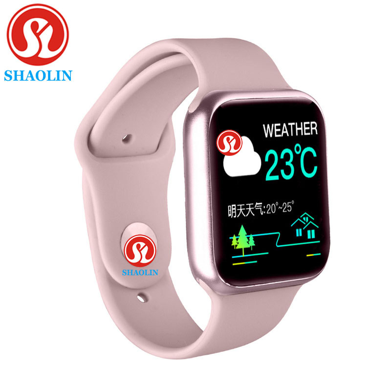 Smart Watch Men Women 38mm 1.3inch Heart Rate Monitor Sport Activity Tracker Relogio Smartwatch for Apple Watch iPhone Android|Smart Watches| |  - title=