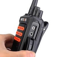 """מכשיר הקשר שני הדרך 2pcs Retevis RT76 Handy מכשיר הקשר 5W GMRS מורשה דיבורית VOX שני הדרך רדיו GMRS רדיו תחנת Comunicador מקמ""""ש (4)"""