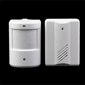 New Driveway Patrol Garage Infrared Wireless Doorbell Alarm System Motion Sensor Home Security Alarm Motion Sensor hot selling doberman security entry defender with chime infrared motion detection home alert sensor ir doorbell home security alarm system