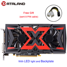 Dataland graphics card Radeon RX580 8G rx 580 Powered by Radeon Intuitive AORUS Graphics Engine 256 Bit 8GB AMD PC Graphic card