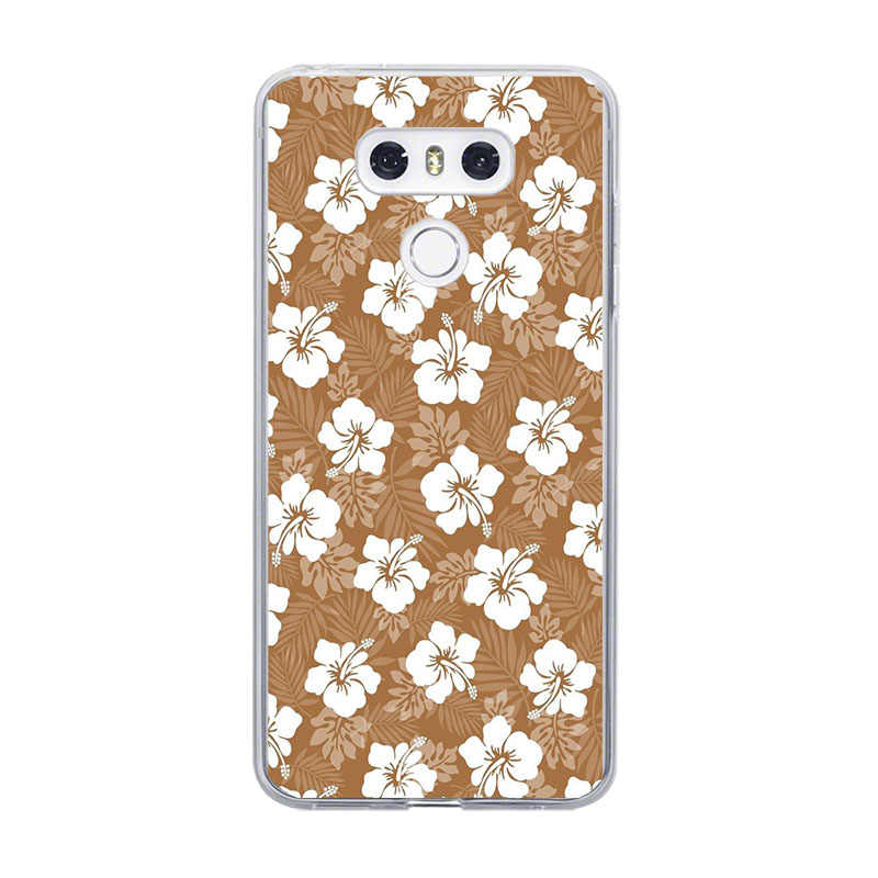 ciciber Phone Case For LG G6 G7 G5 G4 V20 V30 V35 V40 THINQ Soft For LG K8 K7 K10 K4 K9 K11 2017 2018 Plus Coque Tree Leaves