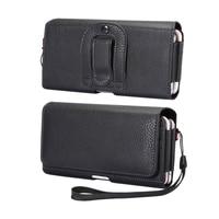 Riñonera con 2 diseños de 6,3-6,9 pulgadas para Iphone/Samsung/Huawei/Xiaomi/Sony/LG, funda para teléfono móvil, bolsa con Clip para cinturón