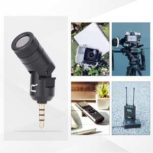 Image 4 - COMICA CVM VS07 Omnidirectional Mini Microphone for GoPro DSLR Camera Phone Stabilizer Mic for Video Recording(3.5mm TRRS)