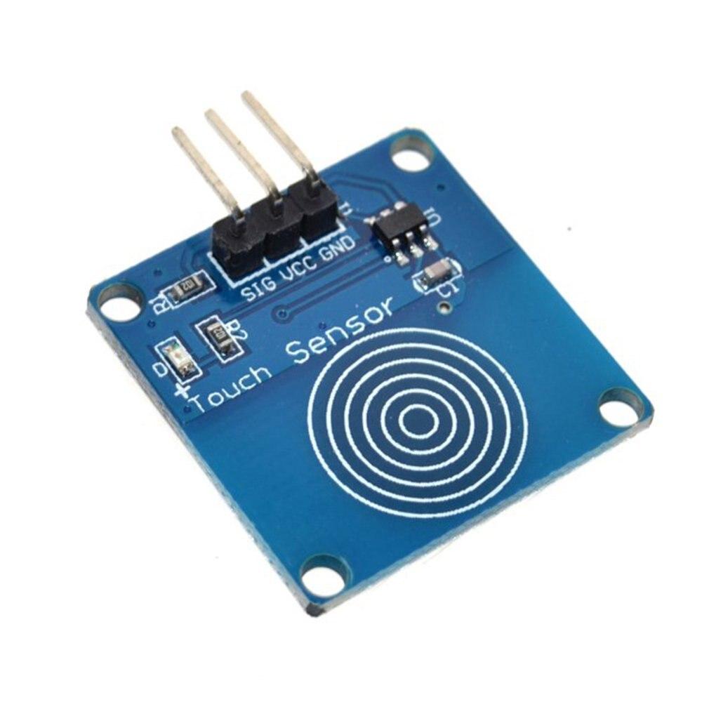 1 pçs/lote TTP223B 1 canal Jog digital sensor de toque capacitivo interruptor de toque toque módulos Acessórios para arduino