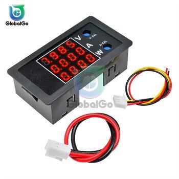 3 in 1 DC Voltage Current Power Tester Meter Analyzer 100V 10A 1000W Red LED Digital Voltmeter Ammeter Wattmeter 150a analyzer current power meter uav precision parts aeromodel model tester